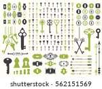 vector illustration with design ... | Shutterstock .eps vector #562151569