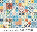 Portuguese Tiles. Vector...