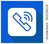 call vector icon   Shutterstock .eps vector #562156114