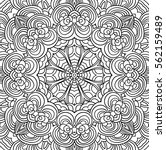 uncolored symmetric tracery for