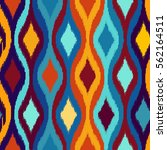 seamless geometric pattern ... | Shutterstock .eps vector #562164511