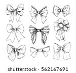 hand drawn vector illustrations.... | Shutterstock .eps vector #562167691