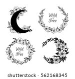 hand drawn vector illustration  ... | Shutterstock .eps vector #562168345