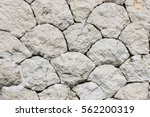 Stone Wall Of Round Shape And...