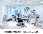 interior of operating room in... | Shutterstock . vector #562217335