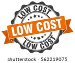 low cost. stamp. sticker. seal. ... | Shutterstock .eps vector #562219075