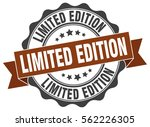 limited edition. stamp. sticker.... | Shutterstock .eps vector #562226305