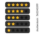 star rating   Shutterstock .eps vector #562243399