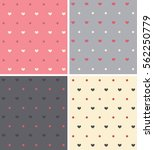 set texture with a pattern in...   Shutterstock .eps vector #562250779