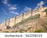 mughal architecture   gwalior... | Shutterstock . vector #562258219