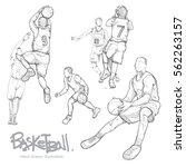 Hand Drawn Illustration Set Of...