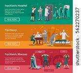 psychiatric illnesses... | Shutterstock .eps vector #562270237