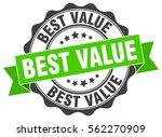 best value. stamp. sticker.... | Shutterstock .eps vector #562270909