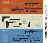 flat horizontal weapon banners...