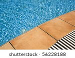 detail of blue swimming pool... | Shutterstock . vector #56228188