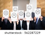 business team feeling sad ...   Shutterstock . vector #562287229