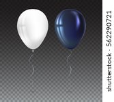 inflatable air flying balloons... | Shutterstock .eps vector #562290721