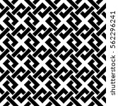 geometric pattern. vector... | Shutterstock .eps vector #562296241
