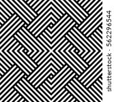 geometric pattern. vector... | Shutterstock .eps vector #562296544