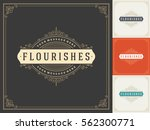 royal logo design template... | Shutterstock .eps vector #562300771