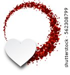 love valentine's background... | Shutterstock .eps vector #562308799
