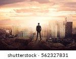 young asian businessman...   Shutterstock . vector #562327831