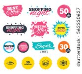 sale shopping banners. special... | Shutterstock .eps vector #562330627
