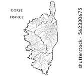 detailed map of the region of...