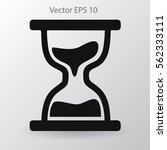 hourglass vector illustration | Shutterstock .eps vector #562333111