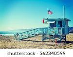 Lifeguard Tower In Santa Monic...