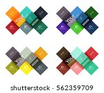 vector color stripes... | Shutterstock .eps vector #562359709