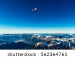 tour helicopter over the... | Shutterstock . vector #562364761
