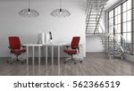 office interior. 3d... | Shutterstock . vector #562366519