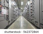 electrical switchgear... | Shutterstock . vector #562372864