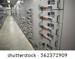 electrical switchgear... | Shutterstock . vector #562372909
