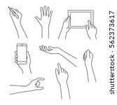 Business Concept Of Hand In...