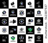 logo camera the photographer | Shutterstock .eps vector #562387537