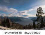 view of lake  from north to... | Shutterstock . vector #562394539
