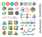 business charts. growth graph....   Shutterstock .eps vector #562405054