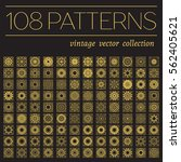 patterns set with luxury arabic ... | Shutterstock .eps vector #562405621