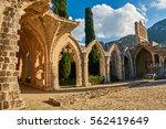 bellapais abbey in kyrenia ... | Shutterstock . vector #562419649