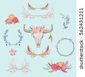vector illustration of... | Shutterstock .eps vector #562431211