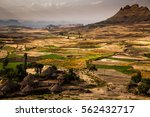 landscape between lalibela and... | Shutterstock . vector #562432717