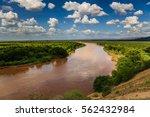 omo river   omorate   ethiopia | Shutterstock . vector #562432984