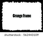 grunge frame. vector...   Shutterstock .eps vector #562443109