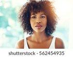 head and shoulders portrait of... | Shutterstock . vector #562454935