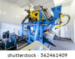 closeup molding and cast press... | Shutterstock . vector #562461409