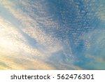Blue Sky Clouds Look Like Wave