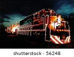 Modern Train Decorated For The...
