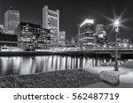 Boston In Massachusetts  Usa A...